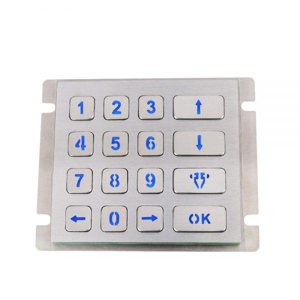Anti-Vandal Access Control Keypad CT-KPS23B